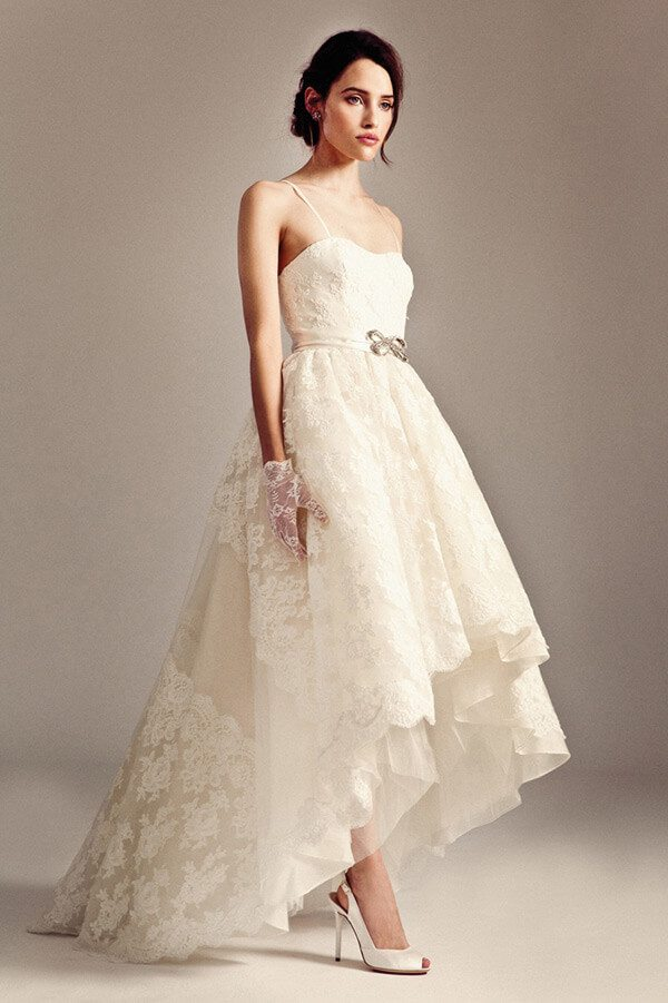 High Low Wedding Dress 25 Of The Most Ridiculously Beautiful Hi Lo Dresses On