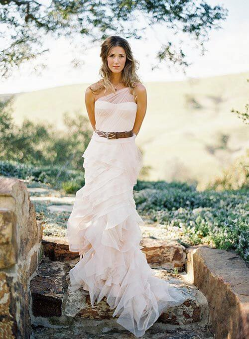20 best country chic wedding dresses rustic western for Rustic country wedding dresses