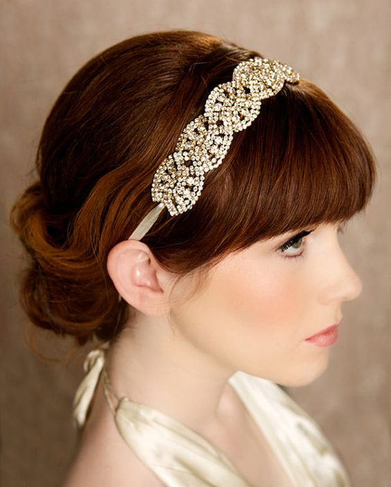 Vintage Wedding Headpieces: 15 Most Rare Vintage Headpieces For Redhead Bride