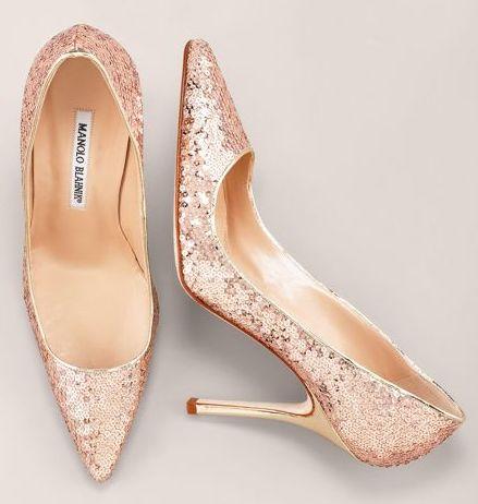 20 most eyecatching pink wedding shoes