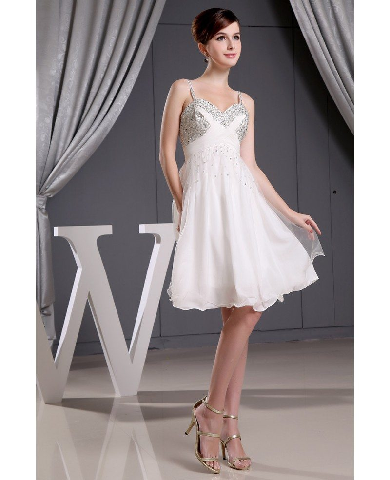 A line sweetheart short tulle wedding dress with beading for A line sweetheart tulle wedding dress