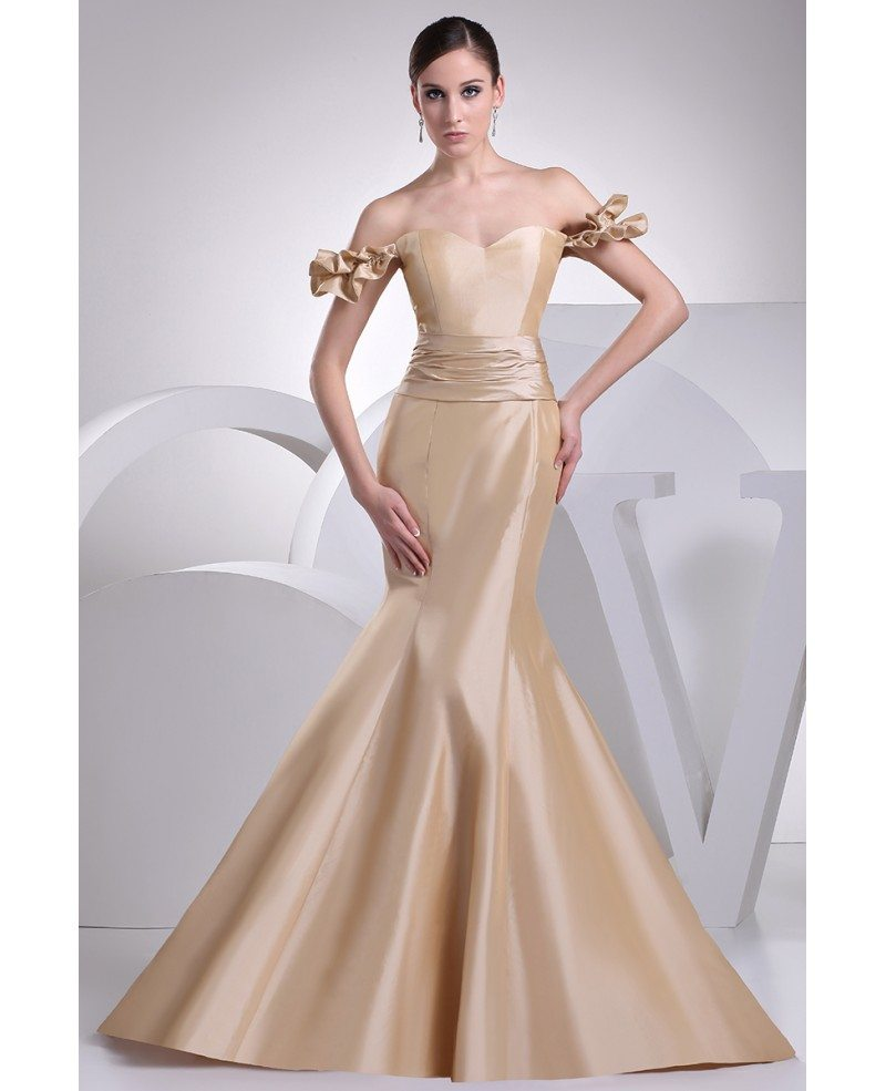 Sexy Off Shoulder Body Fitted Mermaid Formal Dress Op4207 173