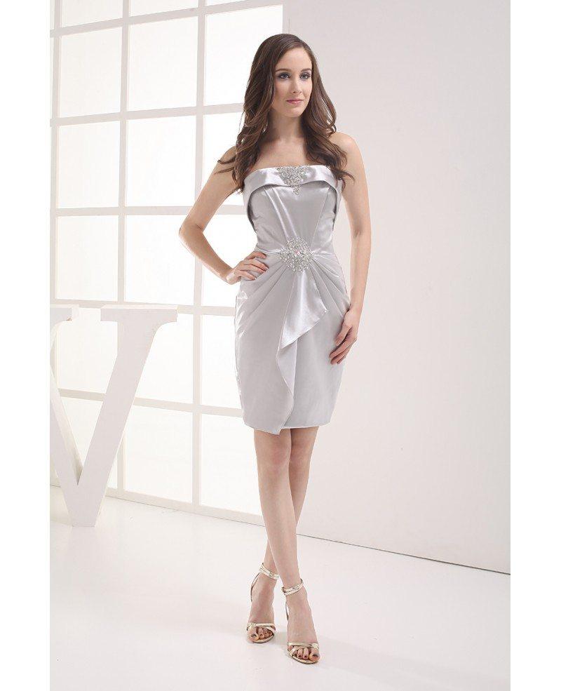 Short Strapless Dresses