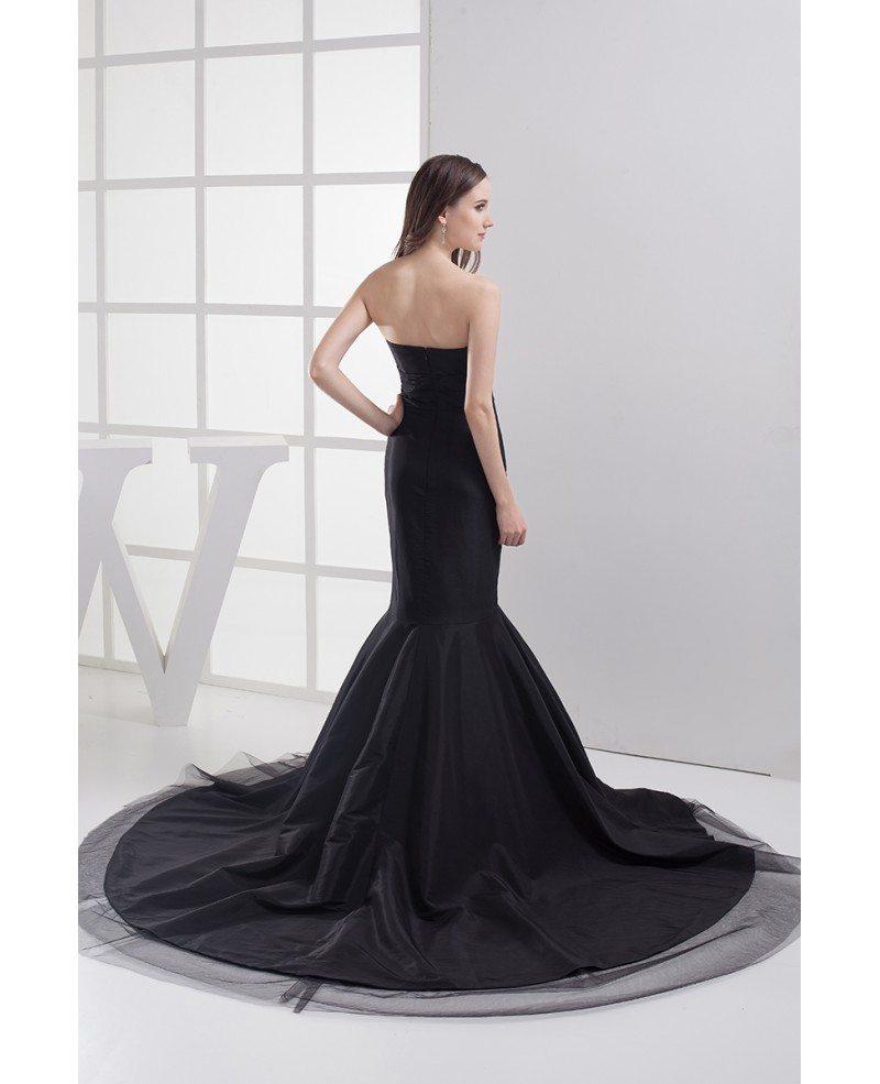 formal black mermaid long prom dress custom  op4033  170 4