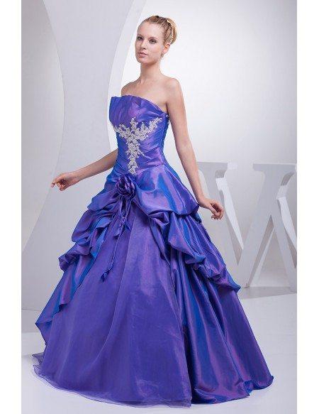 Purple Color Formal Dress