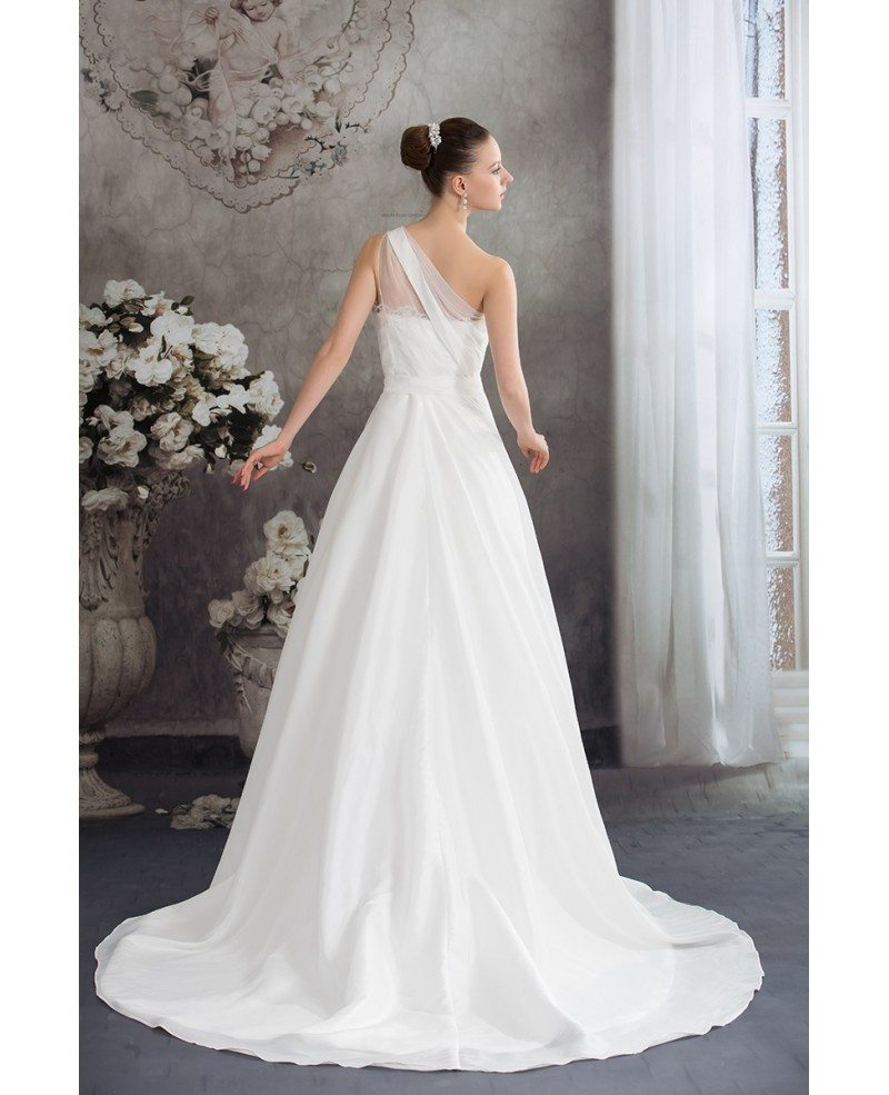 One Strap Wedding Gowns