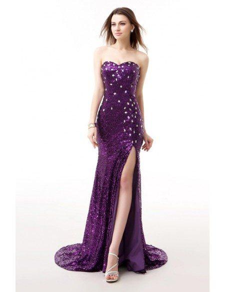 Grape Formal Dresses