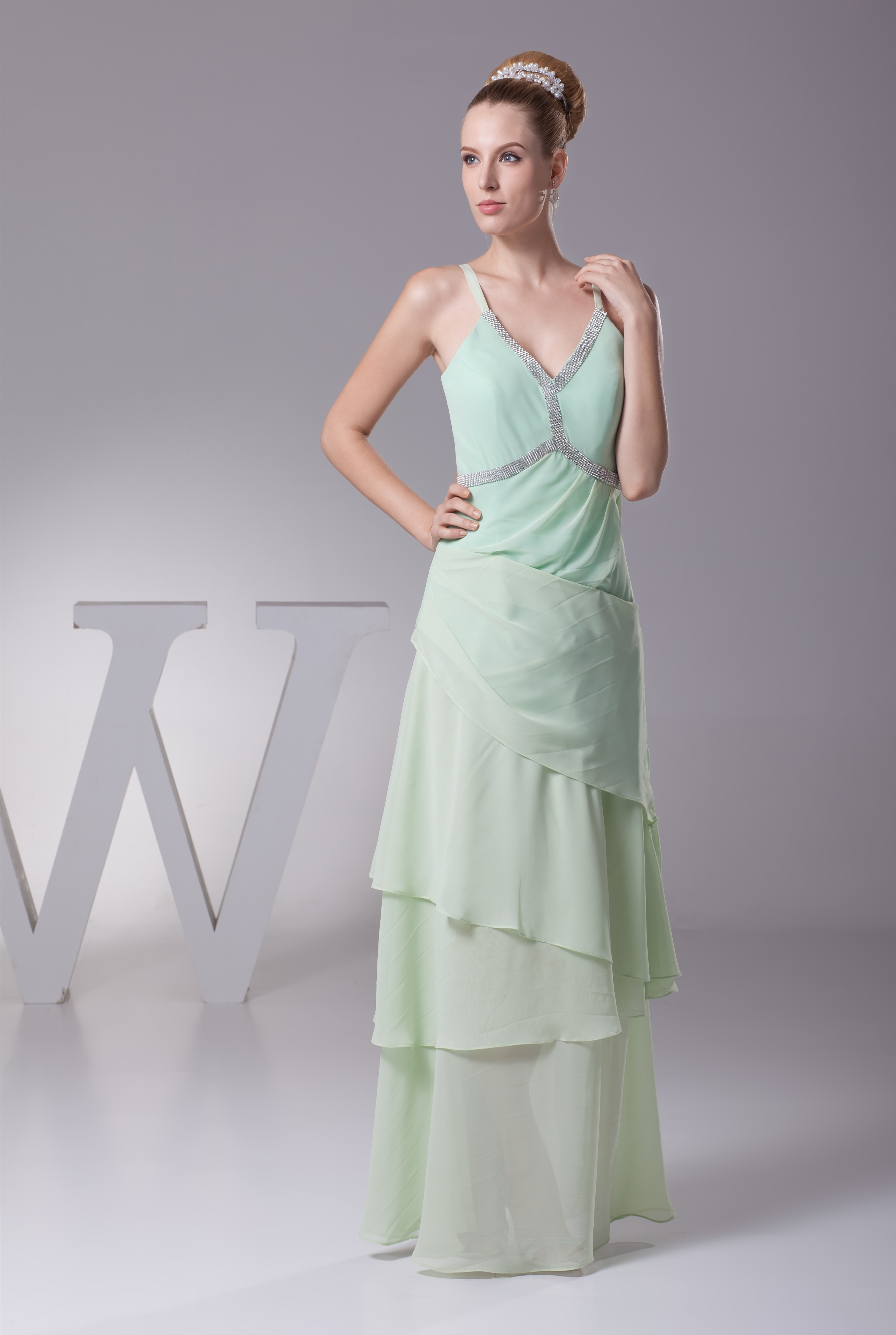 Trendy Mother Of The Bride: Trendy Youthful Mint Mother Of The Bride Dresses Empire