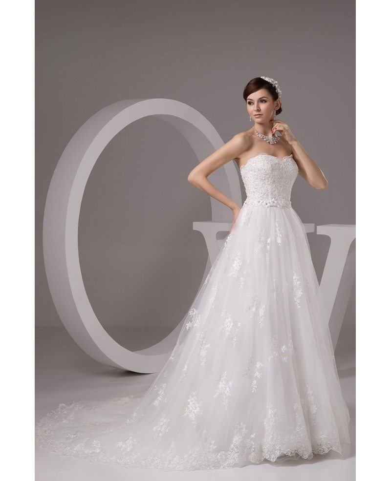 Pretty princess lace empire waist long tulle maternity for Empire waist tulle wedding dress