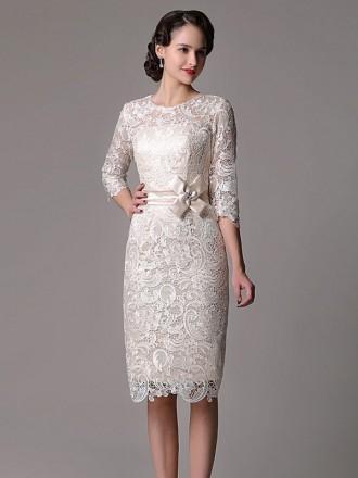 Knee length wedding dresses wedding dresses knee length for Knee high wedding dresses