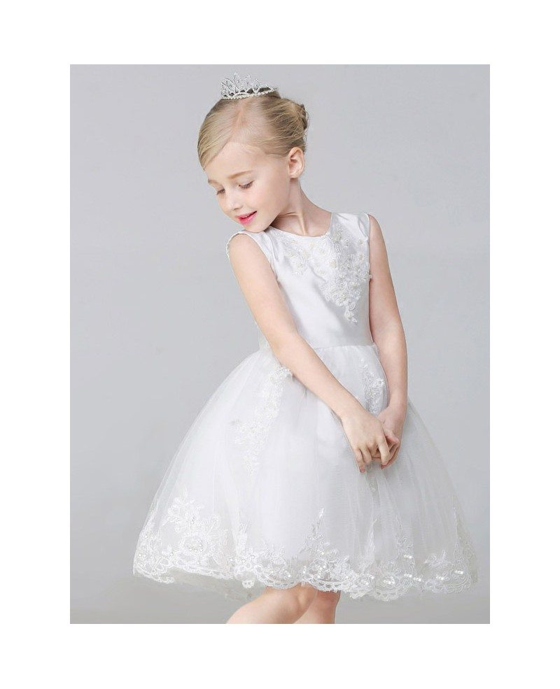 flower girl dress lace - photo #46