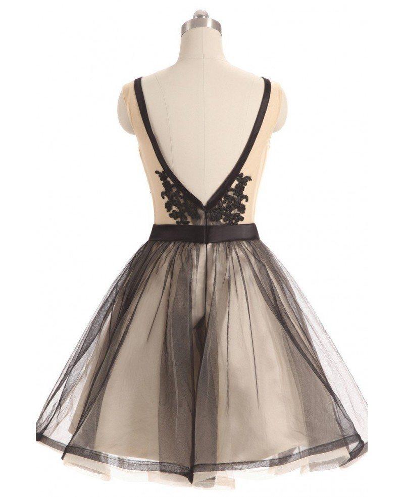 Tulle Short Prom Dresses 107