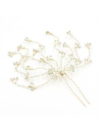 Romantic Tree Branch Wedding Hair Jewelry