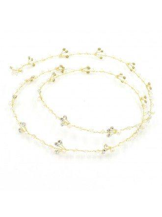 Pearls and Rhinestone Pretty Headband for Brides