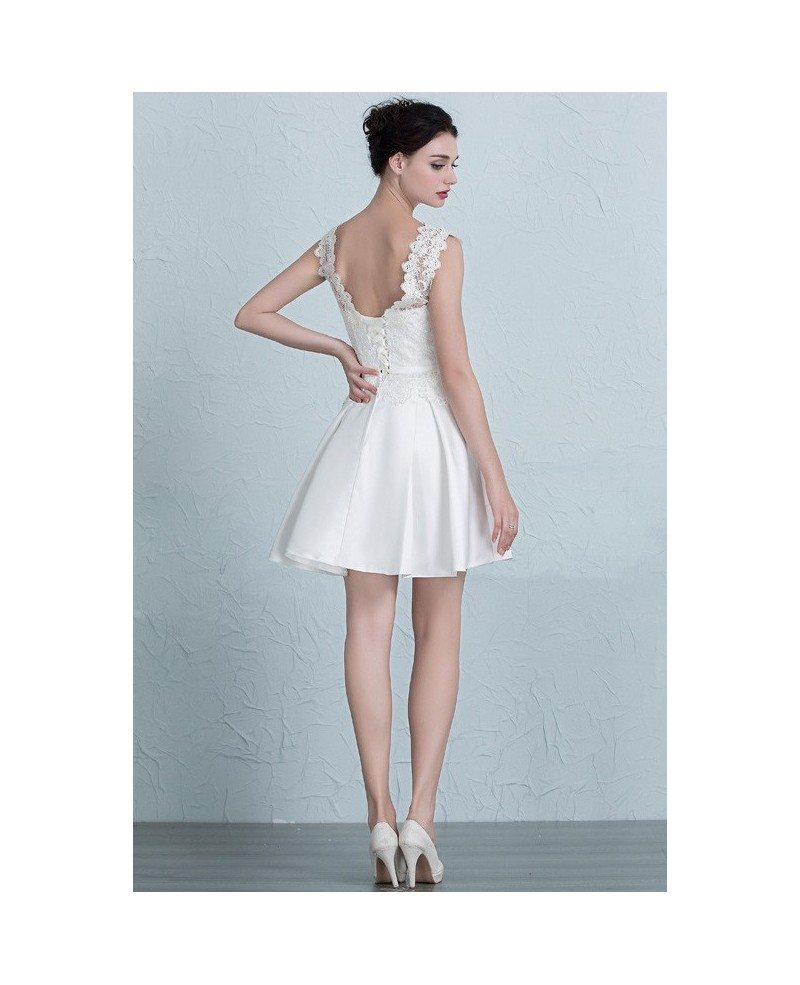 Famous Satin Party Dress Elaboration - Wedding Dress - googeb.com