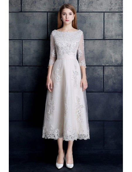 3 4 sleeve wedding dresses flower girl dresses for 3 4 sleeve wedding guest dress
