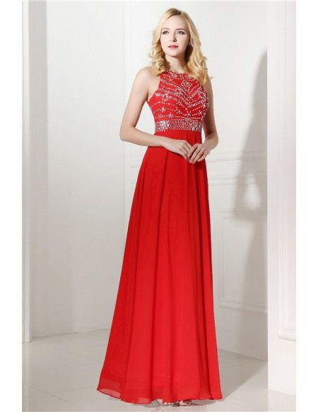 Halter Top And Mini Prom Dress With Beading C06414 178 Gemgrace