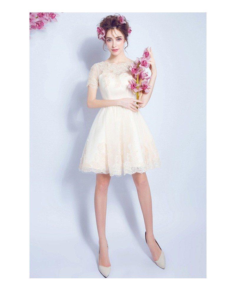 Cheap short wedding reception dress cheap wedding dresses for Inexpensive short wedding dresses