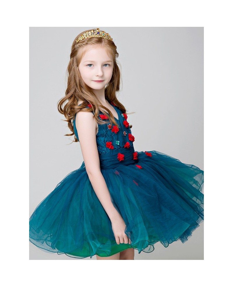 Find blue flower girl dresses in the latest styles and most affordable prices below from Girls Dress Line below. Free shipping on all orders over $