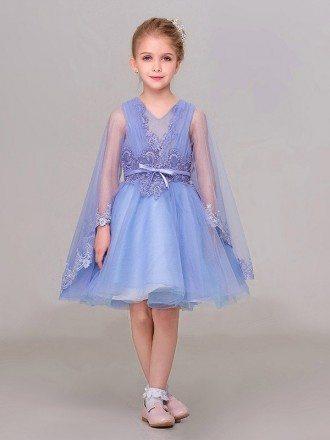 Cute Pink Sweetheart Tutu Lace Flower Girl Dress