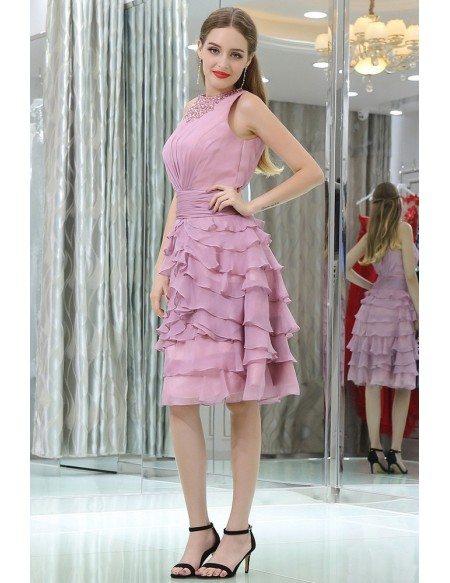 Short Layered Prom Dresses 95