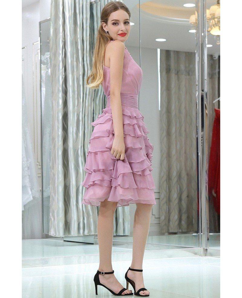 Short Layered Prom Dresses 89
