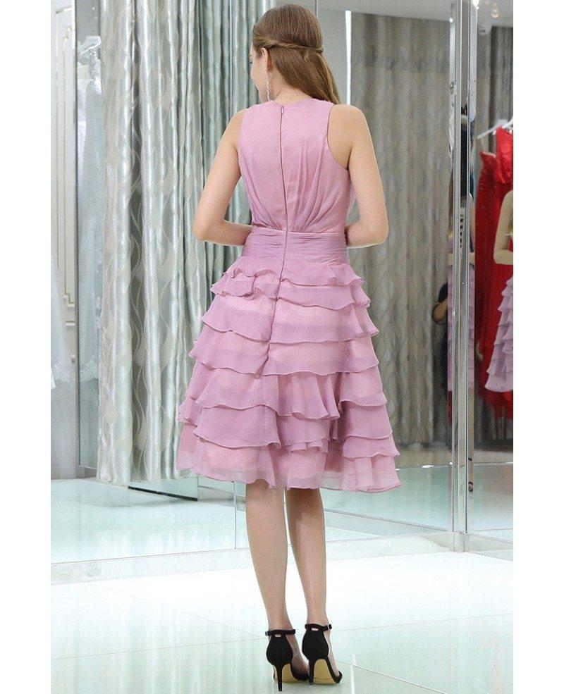 Short Layered Prom Dresses 78