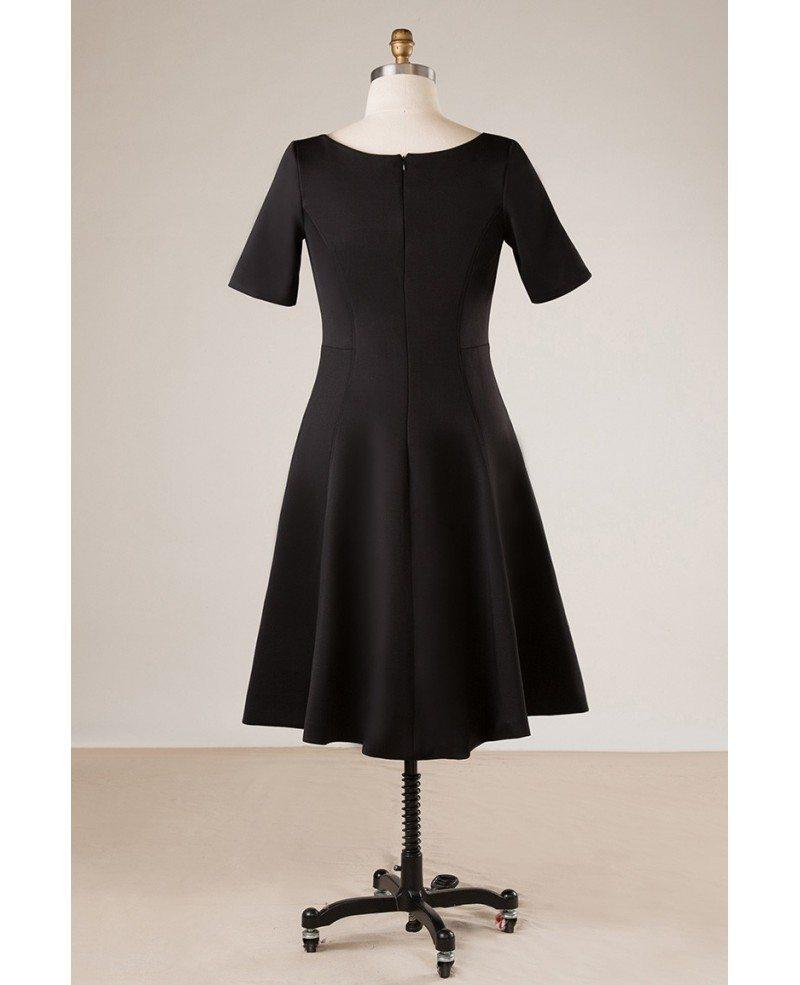 Watch - Black Simple dress plus size video