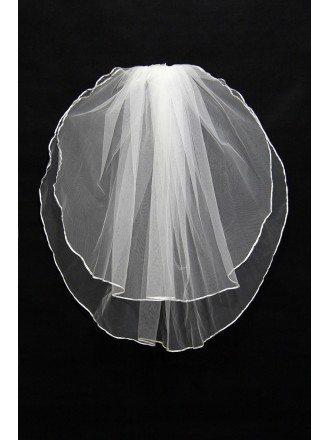 Really Simple Tulle Wedding Veil