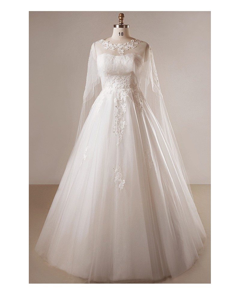 Plus Size Ivory A Line Lace Floor Length Strapless Wedding