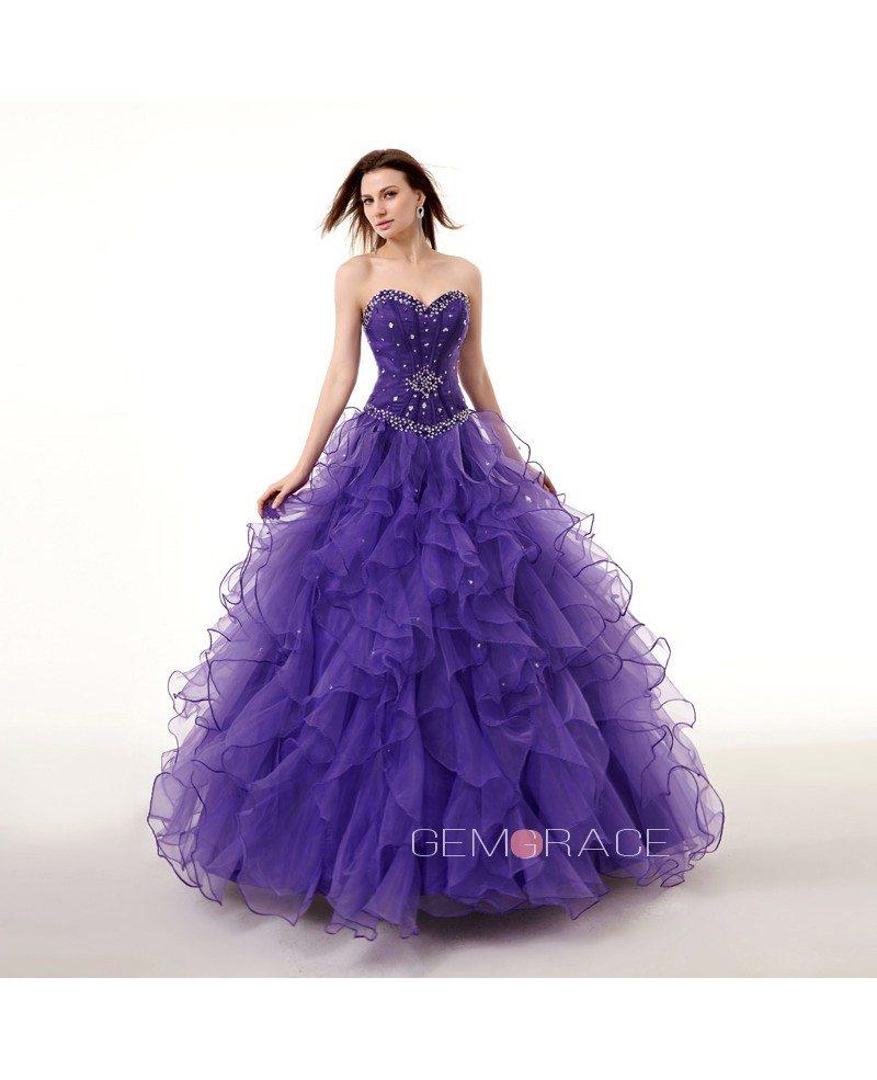 Ocean Blue Prom Dress