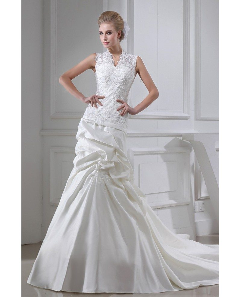 Ruffled Wedding Dresses