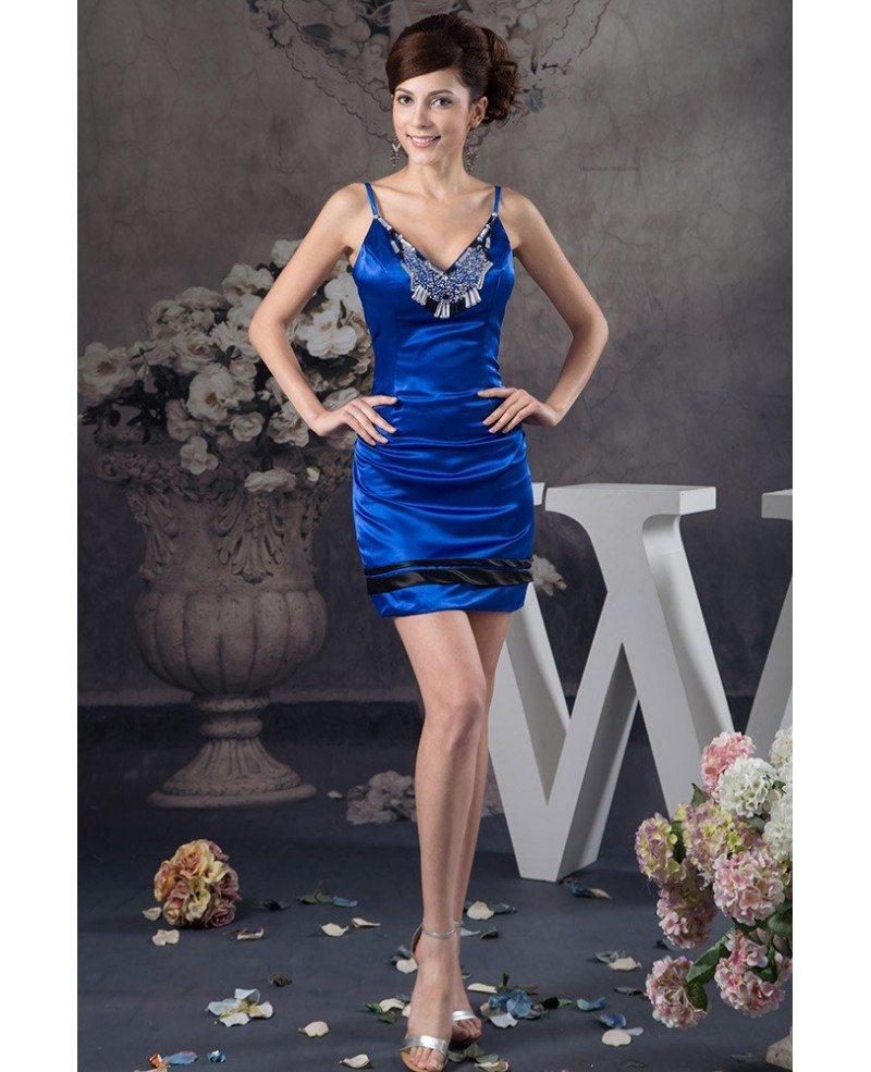 Royal Blue Homecoming Dresses
