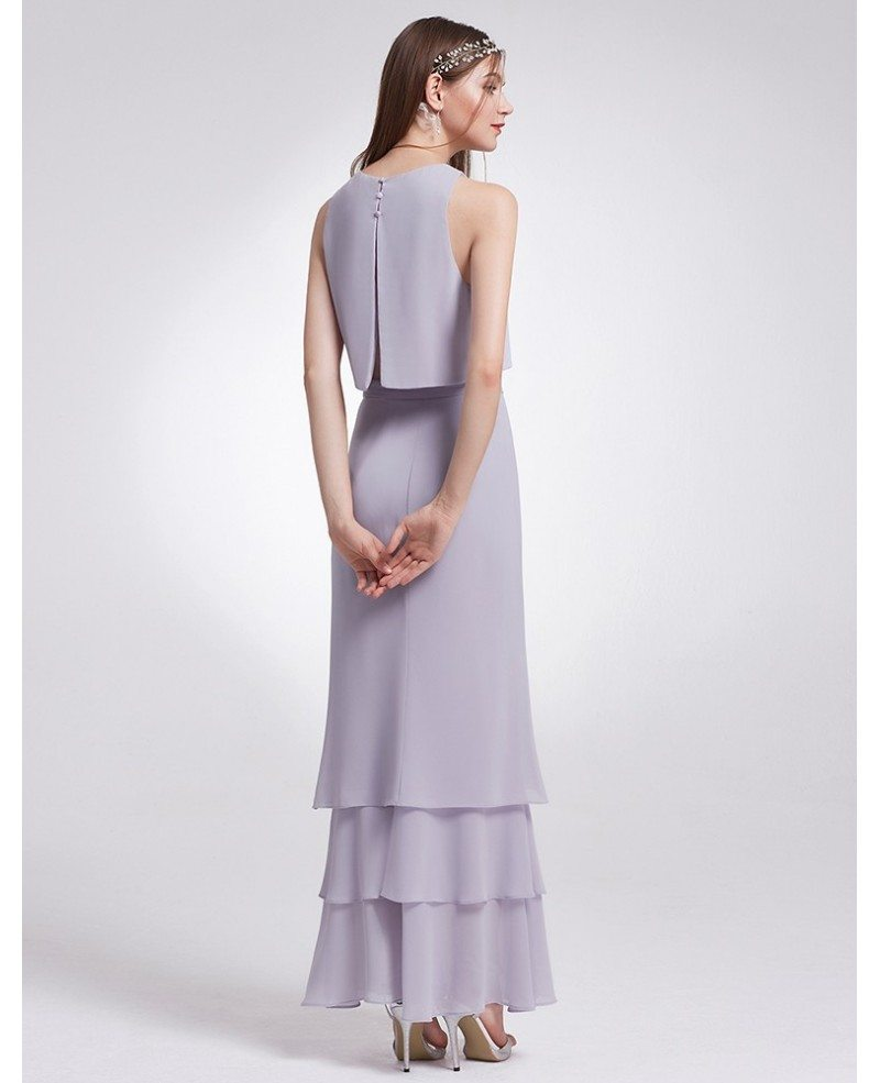 28 Two Piece Wedding Dresses: Burgundy Two Piece Sleeveless Layered Long Cheap
