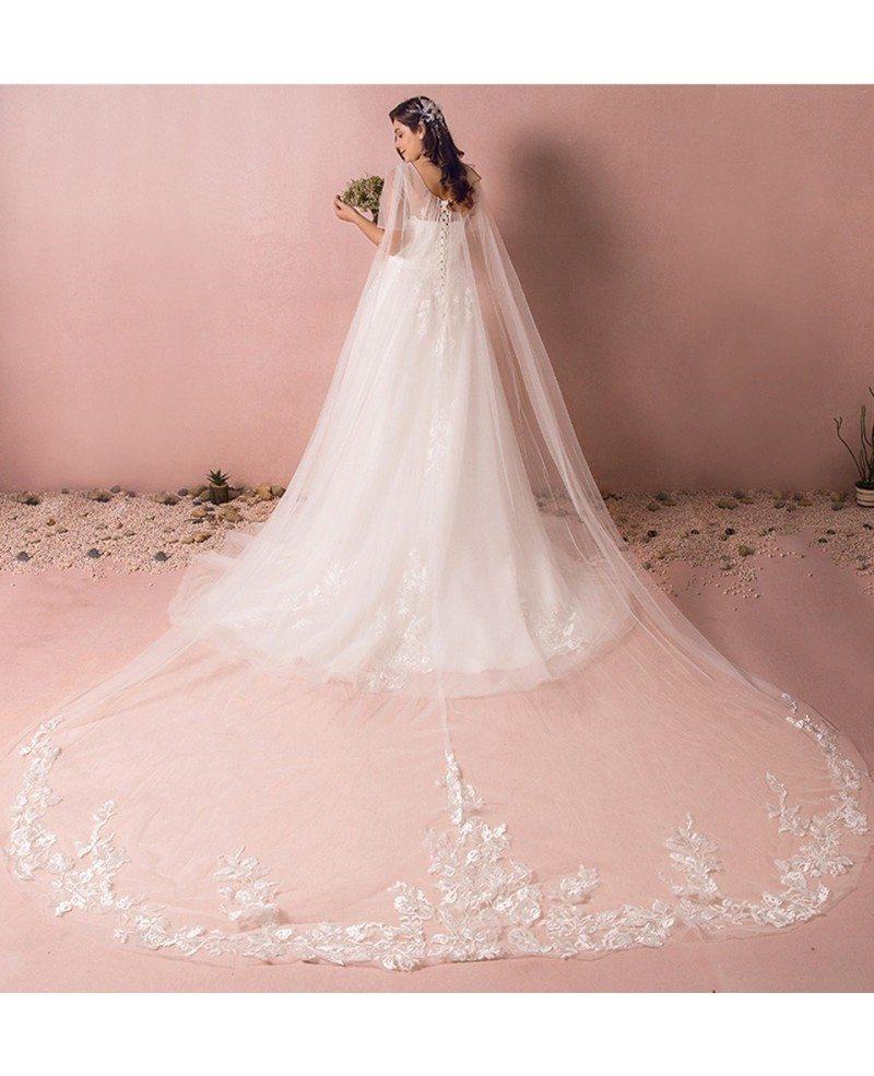 Dreamy Boho Plus Size Wedding Dress With Sleeves For Beach Wedding ...