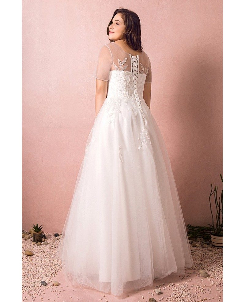 modest beach wedding dresses | Wedding