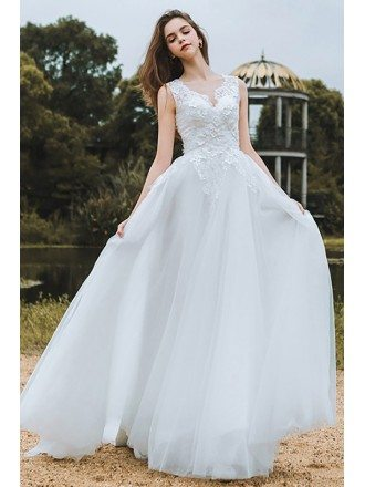 Cheap Country Wedding Dresses, Rustic Bridal Gowns Short Long Styles ...