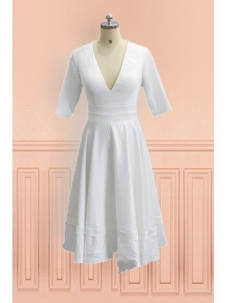 Wedding dress for mature brides