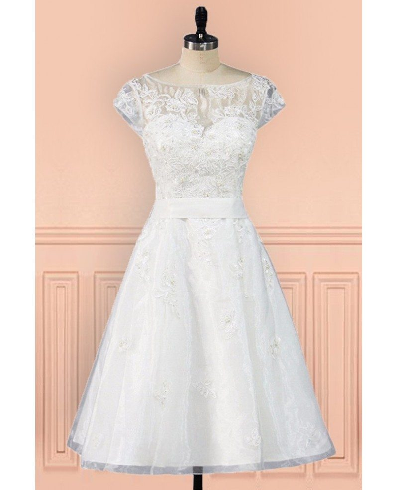Short Wedding Dresses With Sleeves Images Wedding Dress