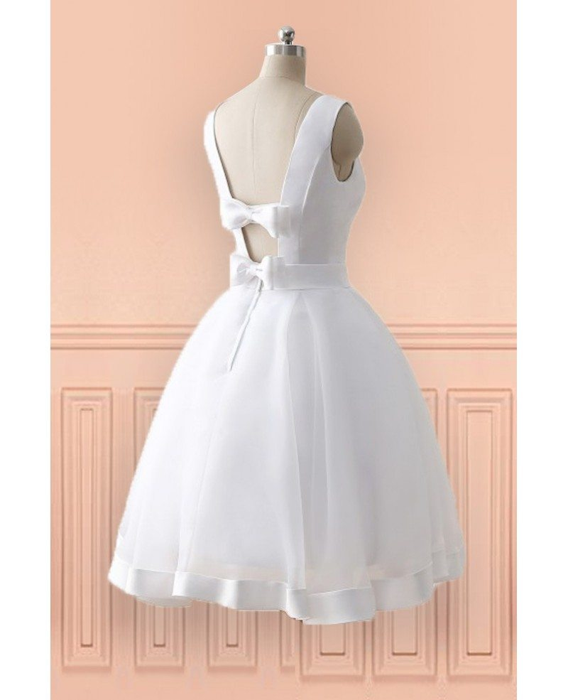Fancy short wedding dresses cheap image princess wedding for Cheap beach wedding dress