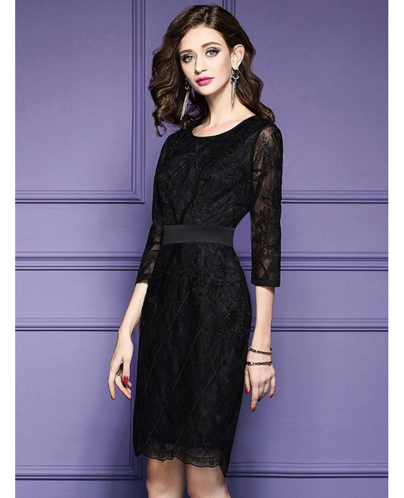 black tie wedding guest dress luxe black lace sleeve wedding guest dress black tie 1870