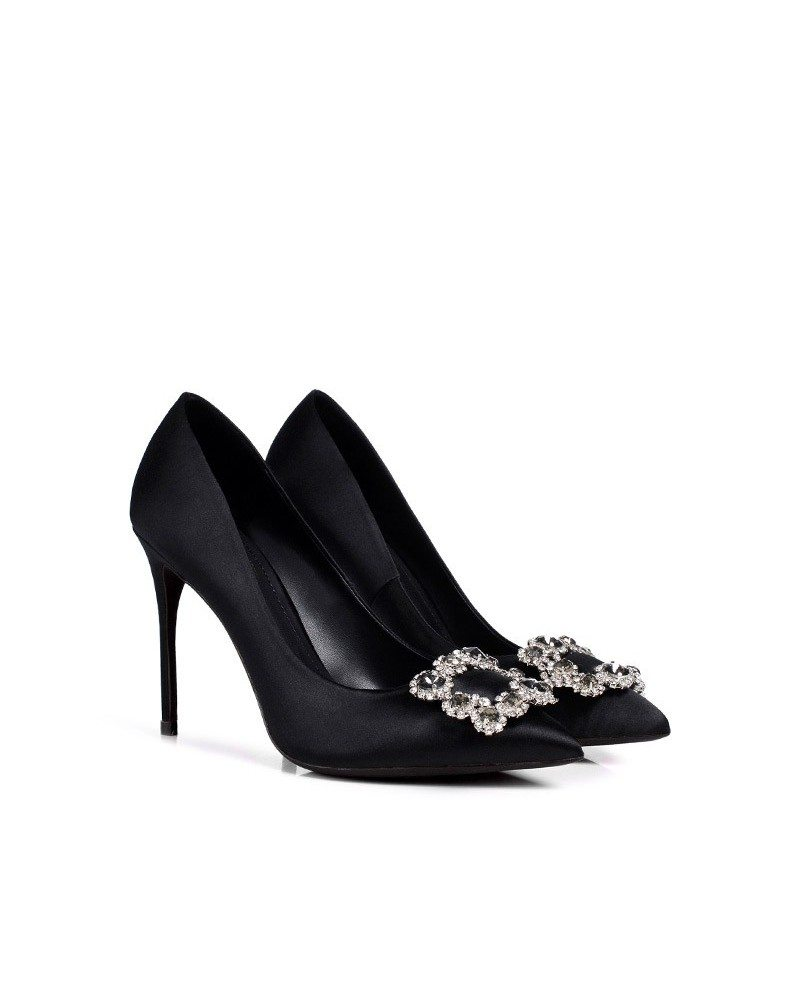 Find the best selection of cheap black satin heels wedding in bulk here at bankjack-downloadly.tk Including winter wedding satin velvet wraps and satin hunter green bolero at wholesale prices from black satin heels wedding manufacturers. Source discount and high quality products in hundreds of categories wholesale direct from China.