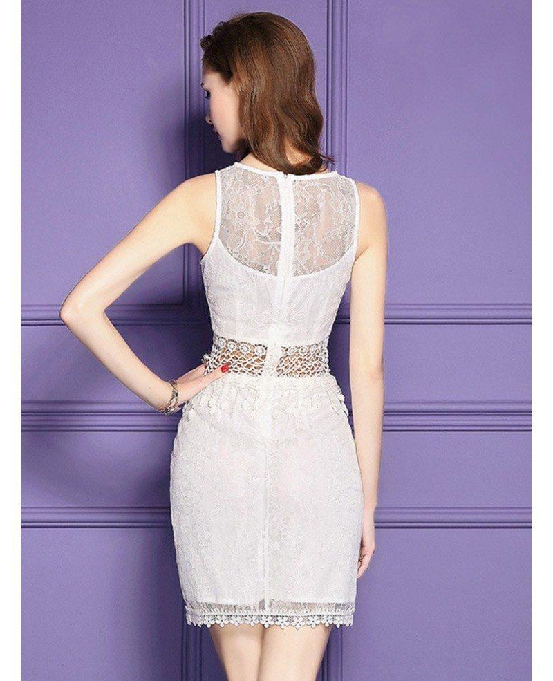Little White Lace Dress
