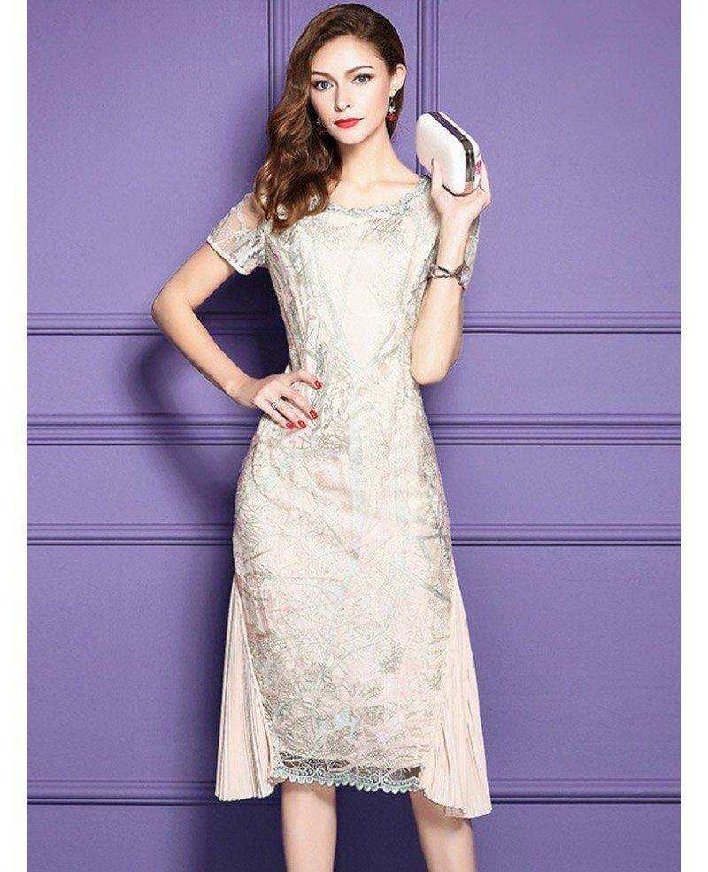 Proper black bodycon dress knee length wedding dress blue ombre