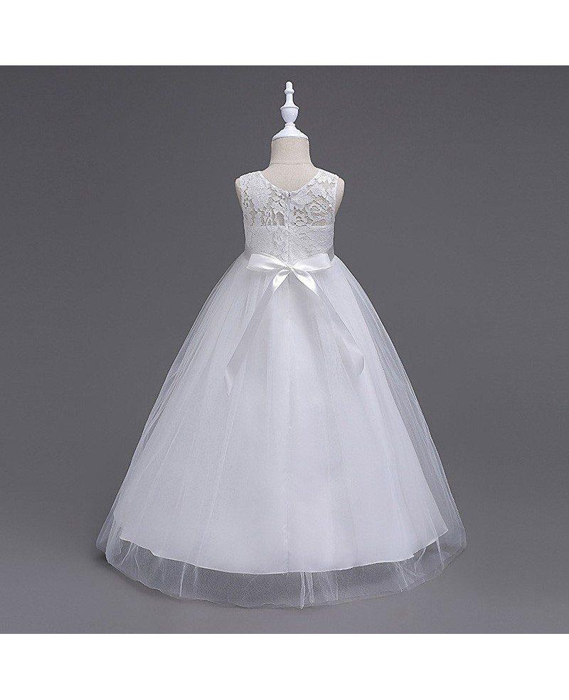 379 princess a line navy blue cheap flower girl dress with lace princess a line navy blue cheap flower girl dress with lace bodice izmirmasajfo Gallery