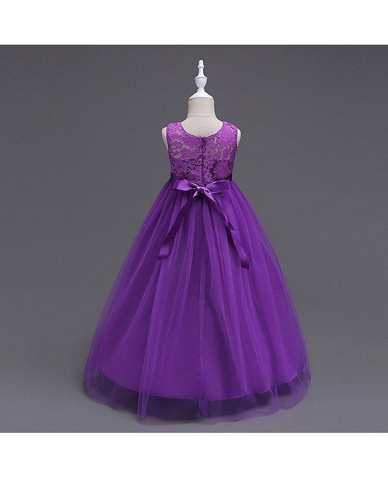 379 princess a line navy blue cheap flower girl dress with lace princess a line navy blue cheap flower girl dress with lace bodice izmirmasajfo