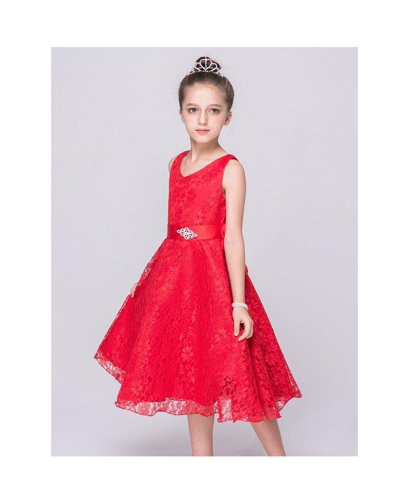 349 princess cream all lace cheap flower girl dress with sash qx princess cream all lace cheap flower girl dress with sash izmirmasajfo