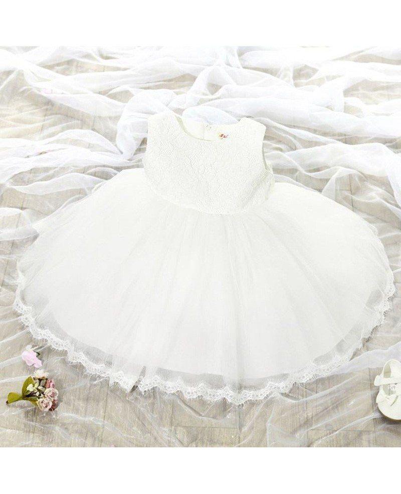 31 9 super cute infant flower girl dress ballgown wedding for Super cheap wedding dresses