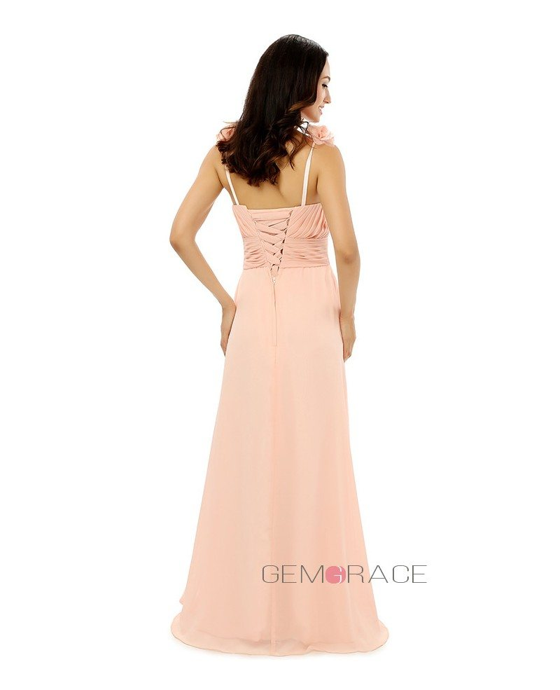 Sheath sweetheart floor length bridesmaid dress cy0263 for Floor length dress