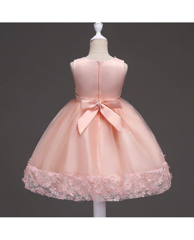 Strapless Flower Girl Dresses